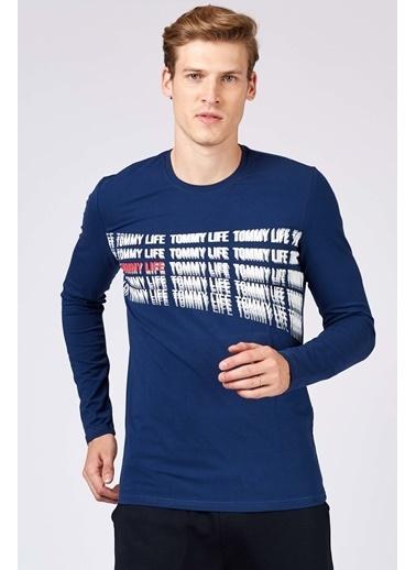 Tommy Life Sweatshirt İndigo